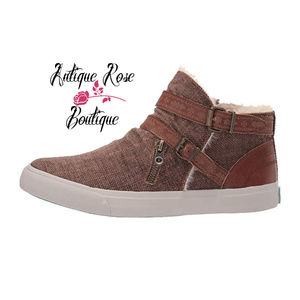 Blowfish Malibu Brown Grunge MOJO-B SHR Sneaker